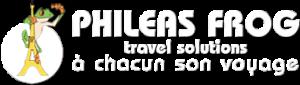 phileas-frog logo blanc