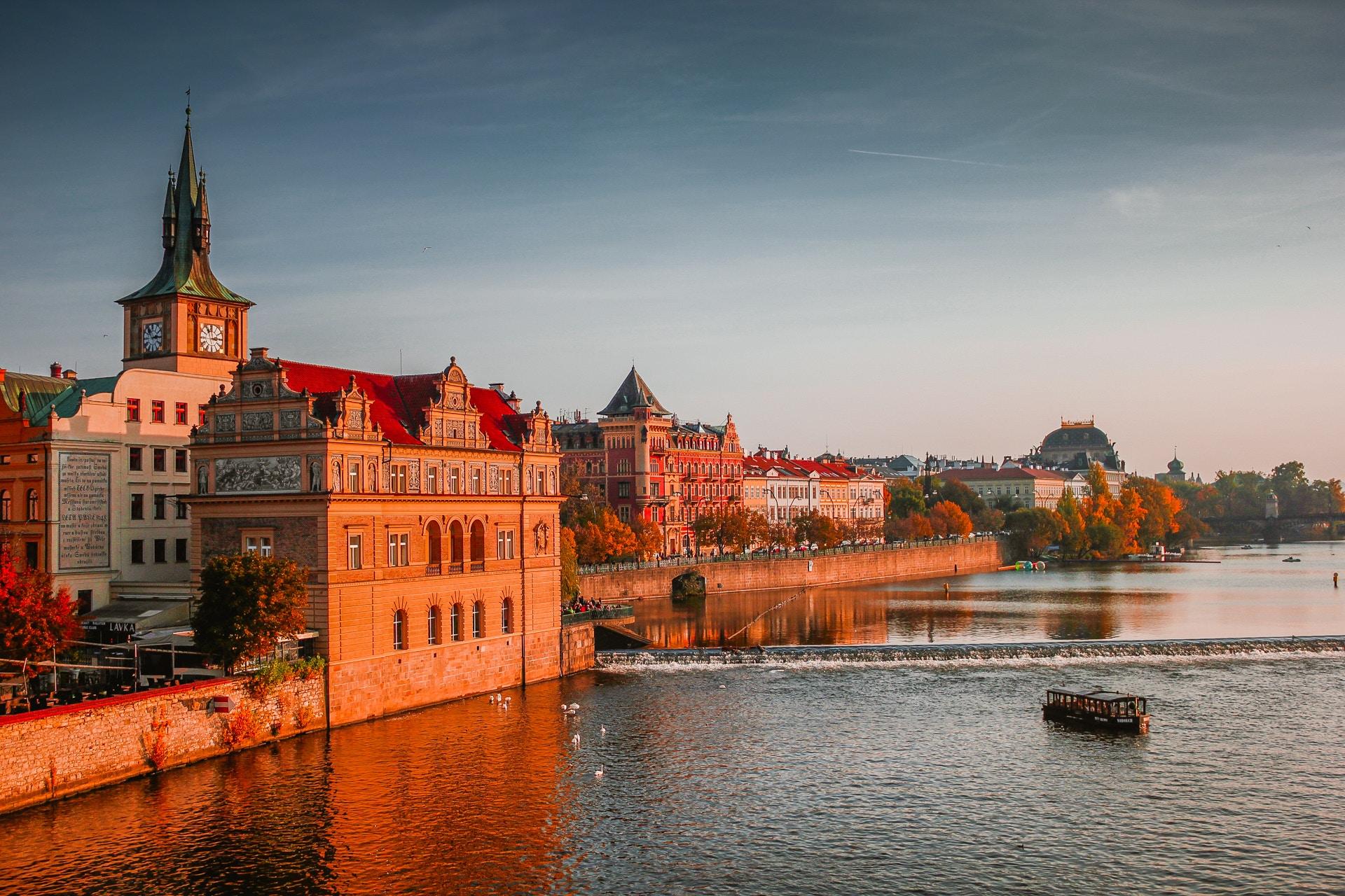 Réveillon de fin d'année à Prague