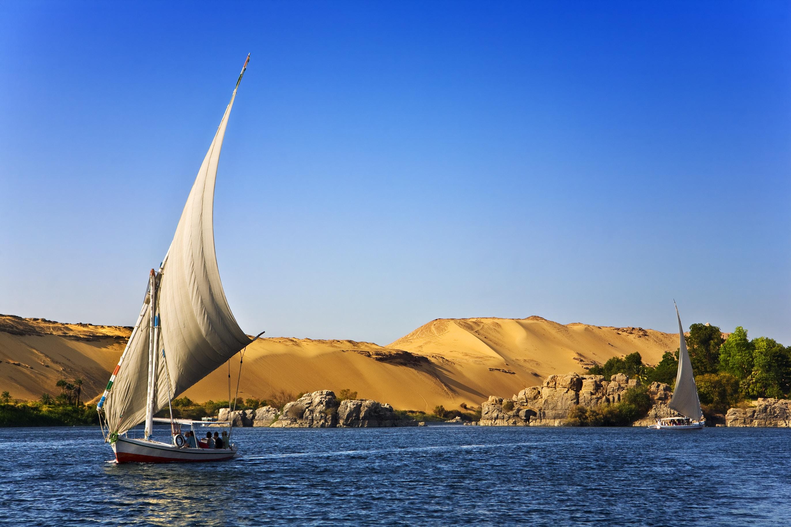 EGYPTE : CROISIERE SUR LE NIL A BORD DU DAHABIYA DELUXE QUEEN TIY 08 JOURS / 07 NUITS