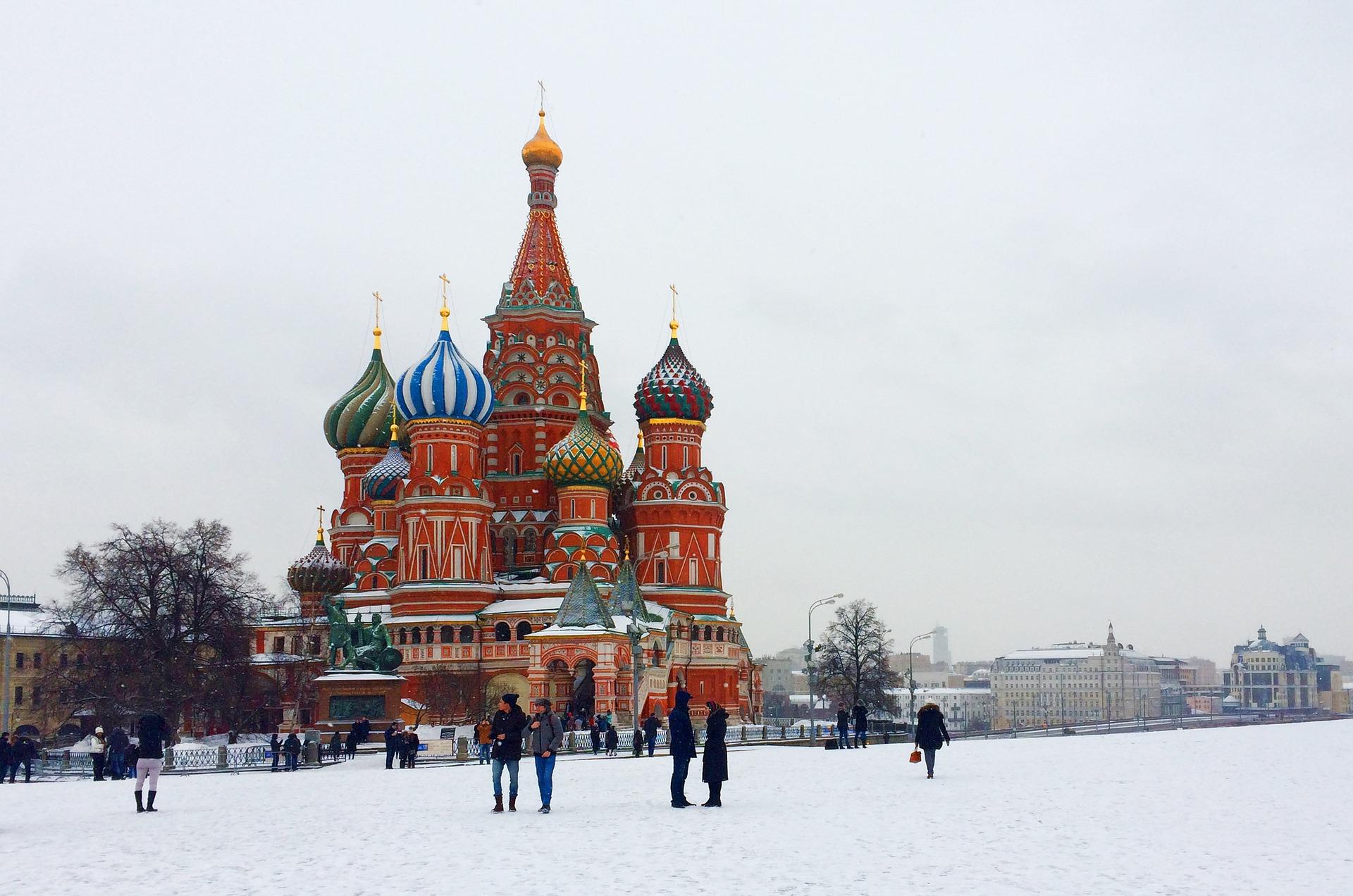 Réveillon de fin d'année à Moscou