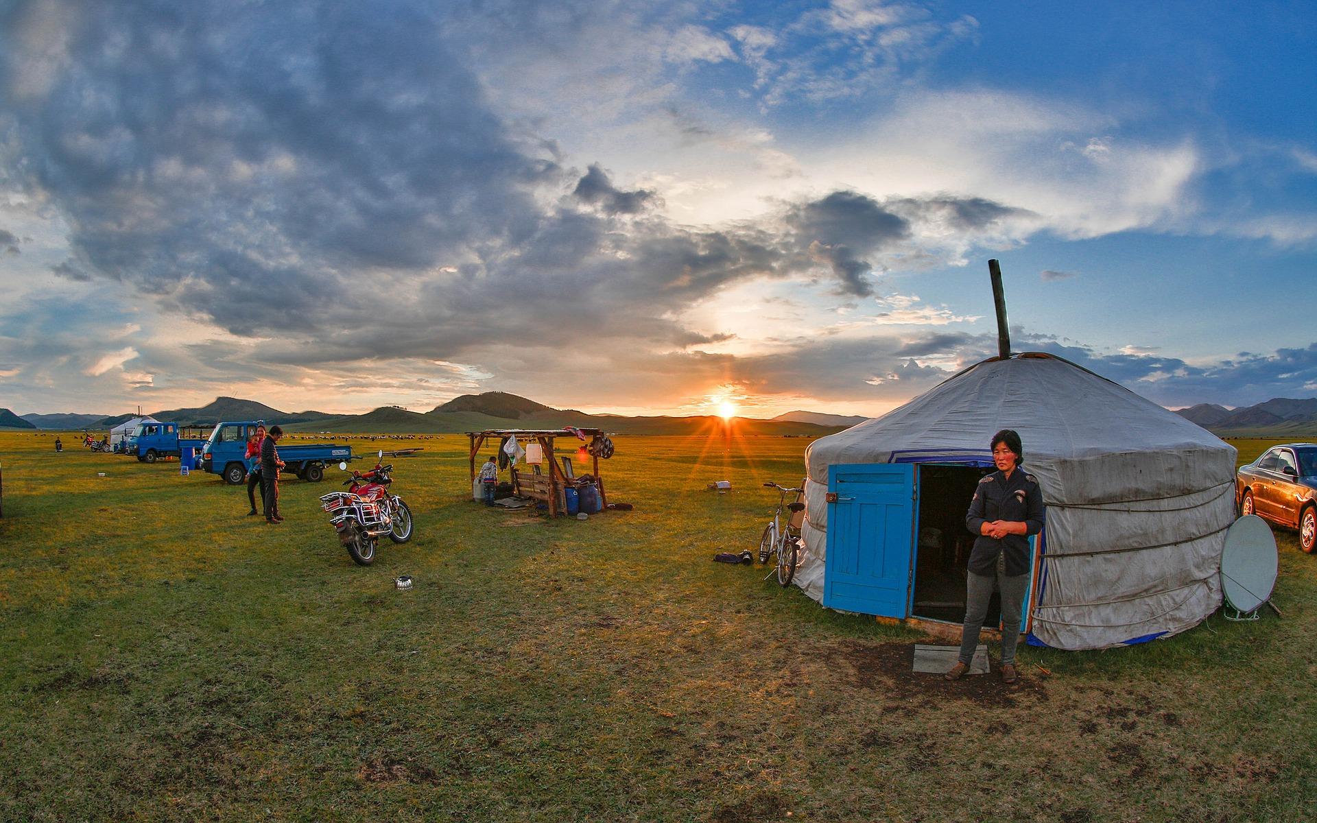 La Grande boucle du Sud au Nord de la Mongolie à l'occasion du festival du Naadam