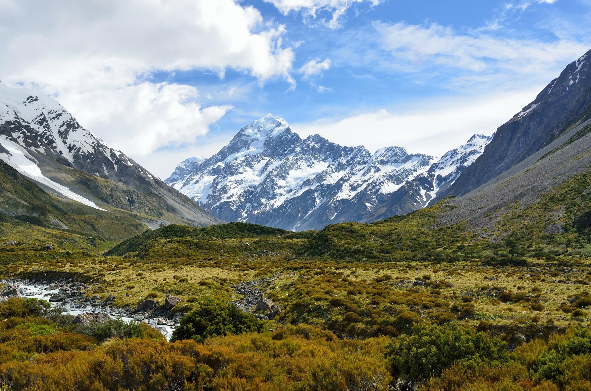 Nouvelle Zélande : Panorama Néo-Zélandais
