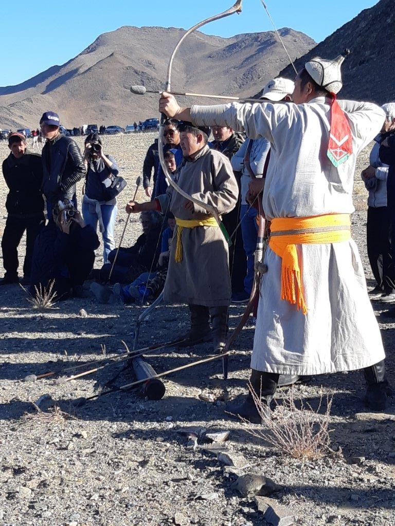 Mongolie : Festival des Aigles dans l'Altaï, à l'automne