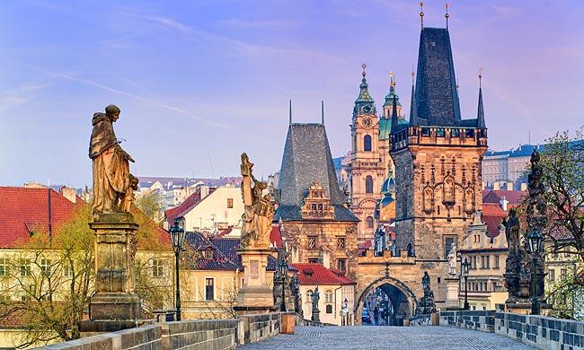 Autotour dans les capitales d'Europe centrale